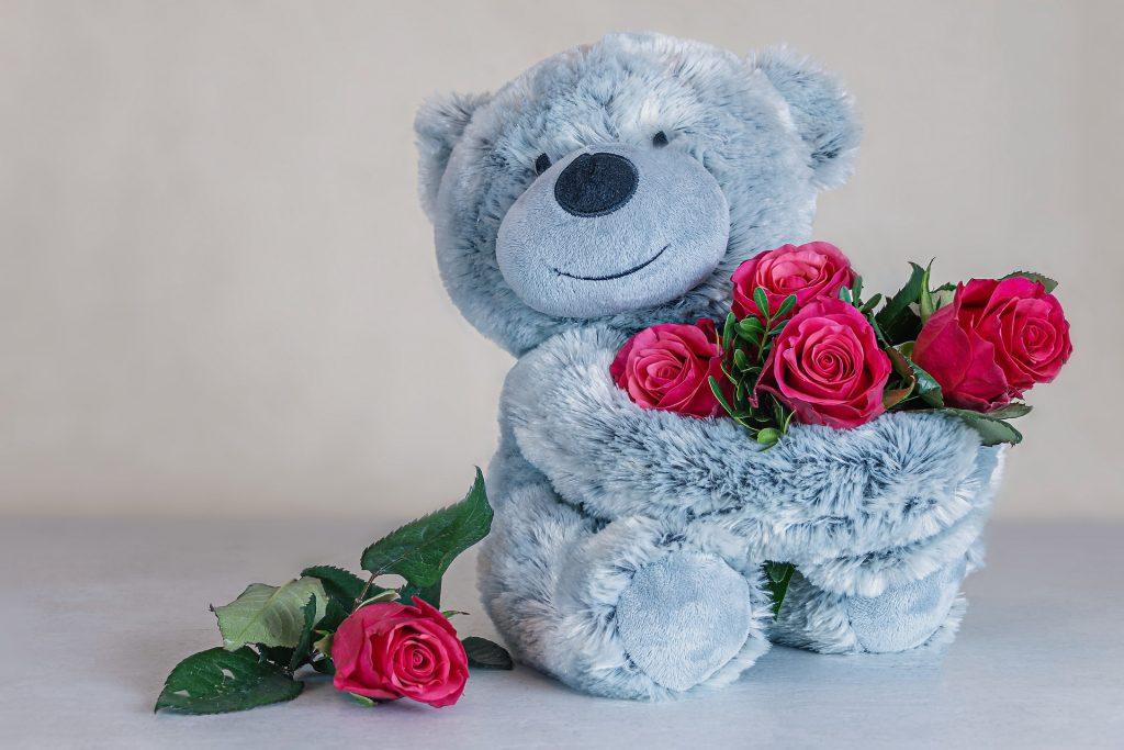 DIRE JE T'AIME - 6 roses